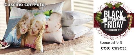 Cuscino con Foto 35% di sconto