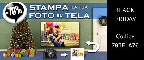 Foto su Tela al 70% di sconto