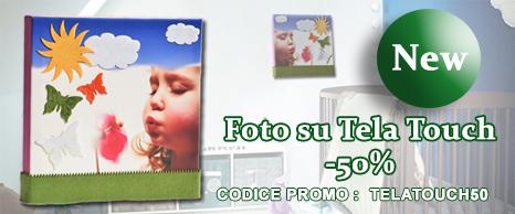 Foto su Tela Touch al 50% di sconto