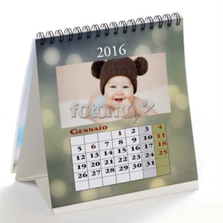 Calendario Fotografico Personalizzato.Calendario Da Tavolo