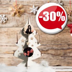 Regali Di Natale In Legno.Regali Di Natale Personalizzati Con Foto Fotomox
